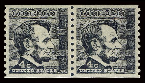 1303 MNH, Coil Pair PSE Graded 98, Cert # 01261588