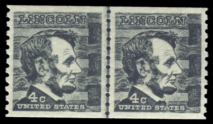 1303 MNH, Line Pair PSE Graded 98, Cert # 01330031