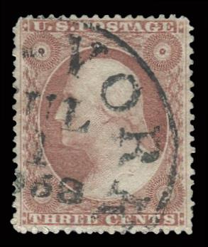 #26 Used PSE Graded 90, PSE Cert # 01262165