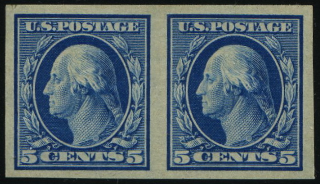 #347 MNH Pair, PSE Certificate # 59636