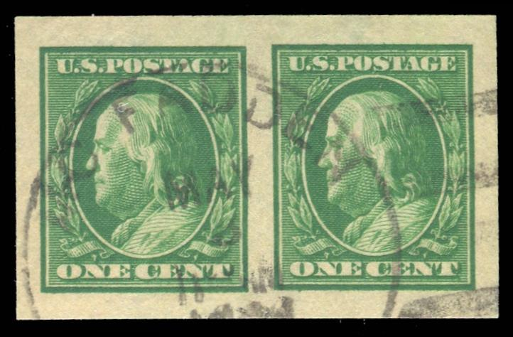 #383 Used Pair PSE Graded 98, Cert # 01304889