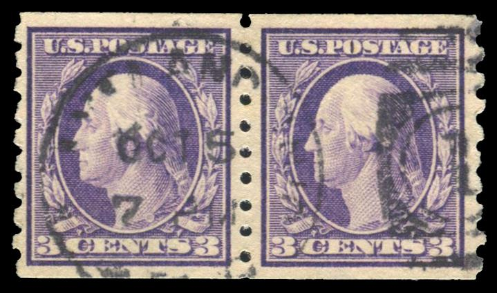 #394 Used Pair PSE Graded 80, PSE Cert # 01293572