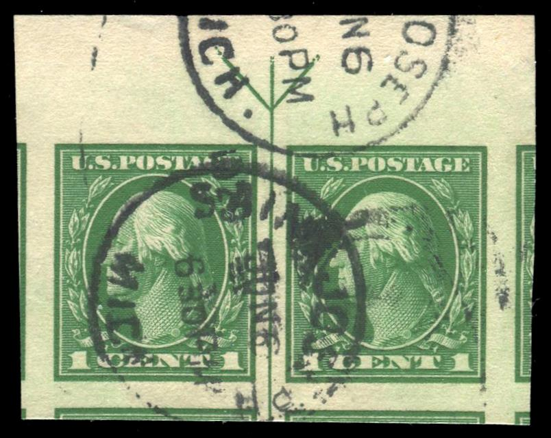 #408 Used Pair w/Guide Line PSE Graded 100, Cert # 01293577