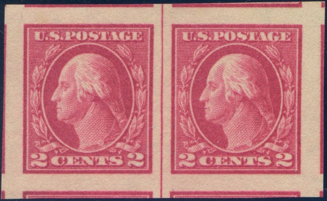 #409 MNH Line Pair, PSE Graded 100J, Cert # 01320150
