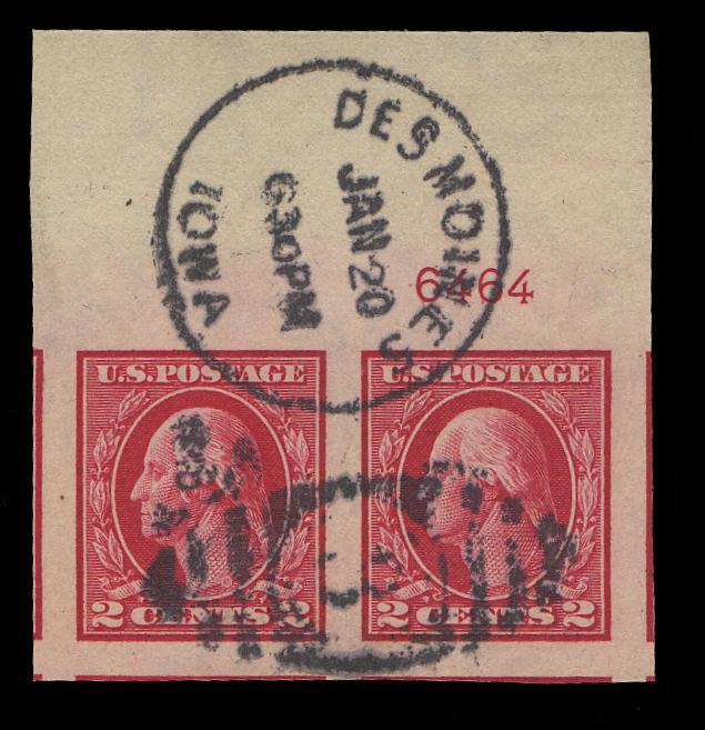 #409 Used Plate # Pair PSE Graded 100J, Cert # 01256642