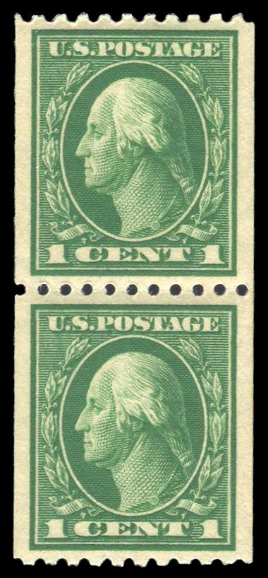 #441 MNH Coil Pair, PSE Graded 95, PSE Cert # 01297425