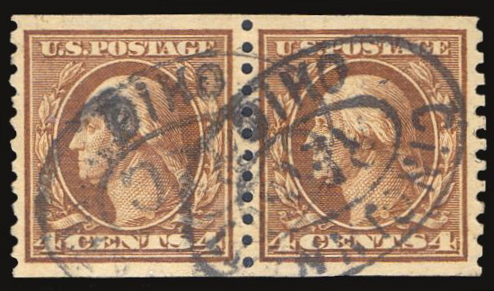 #457 Used Pair PSE Graded 85 w/ 2003 PF Certificate
