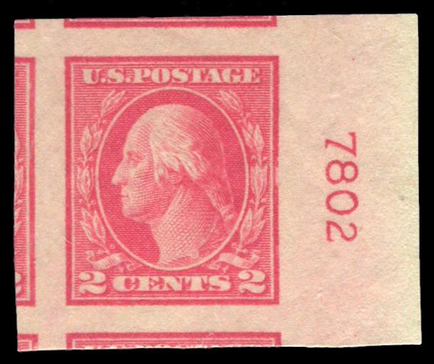 #482 MNH PSE Graded 100J, Plate # Single