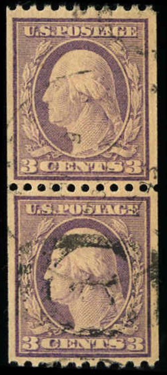 #489 Used Coil Pair PF Graded 85, Cert # 484142