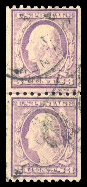 #489 Used Line Pair, PSE Graded 70, Cert # 01288469