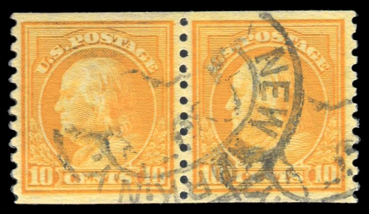 #497 Used Coil Pair PSE Graded 80, Cert # 01319439