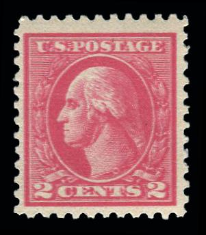 "#528c ""Double Impression"" Mint OG previously hinged"