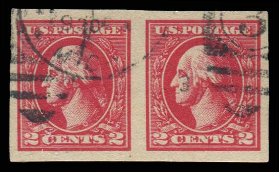 #534A Used Pair PSE Graded 90, PSE Cert # 01265926