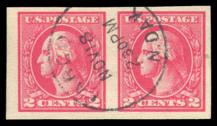 #534 Used Pair PSE Graded 90, PSE Cert # 01325628