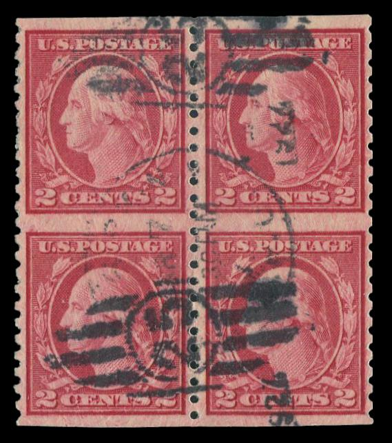 #540a Used Block of Four