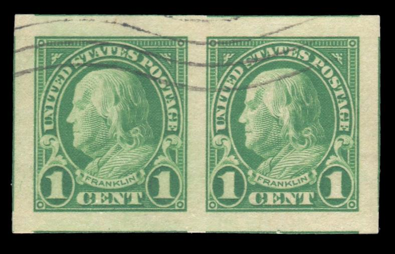 #575 Used Pair PSE Graded 100, Cert # 01321511