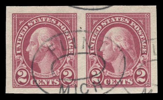 #577 Used Pair PSE Graded 95, PSE Cert # 01263078