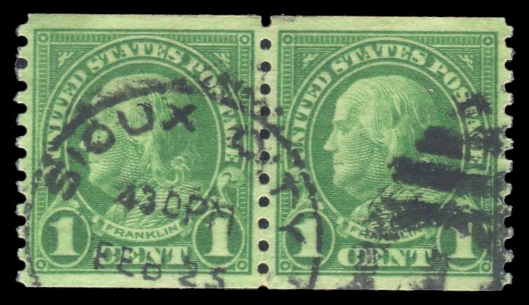 #597 Used Coil Pair, PSE Graded 95, Cert # 01319446