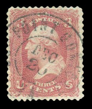 #65 Used with a S.O.N., Old Point Comfort cancel