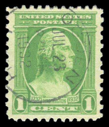 #705 Used PSE Graded 85, Cert # 01323238