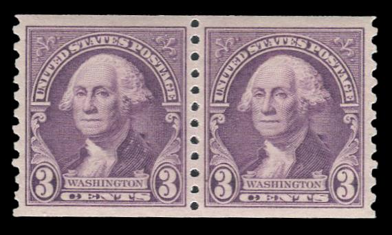 #721 MNH Coil Pair, PSE Graded 95, Cert # 01262719