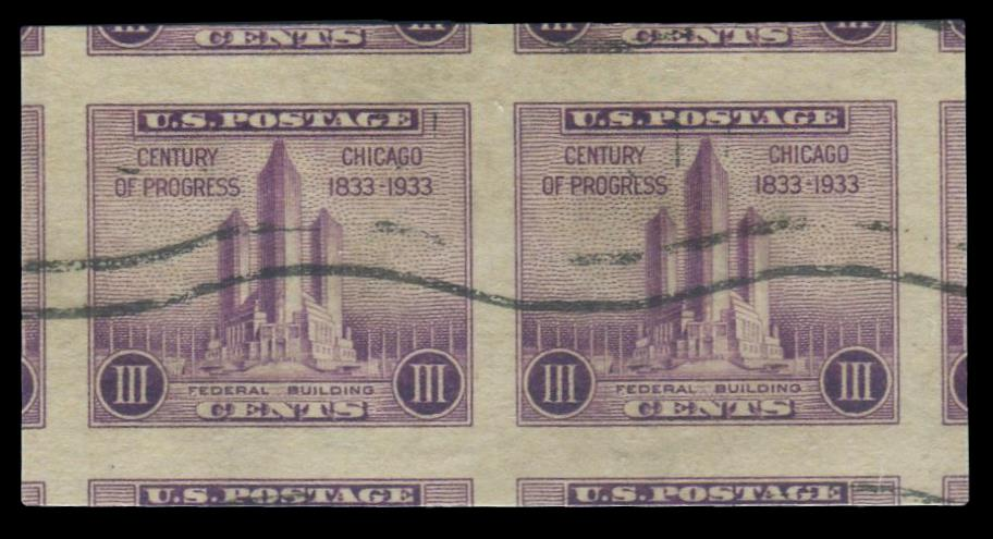 #731a Used Horizontal Pair PSE Graded 100J, Cert # 01296788