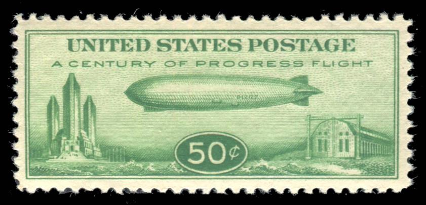 C18 MNH PSE Graded 95, Cert # 01304906
