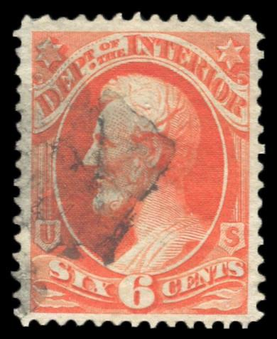 O-18 Used PSE Graded 85, Cert # 01318360