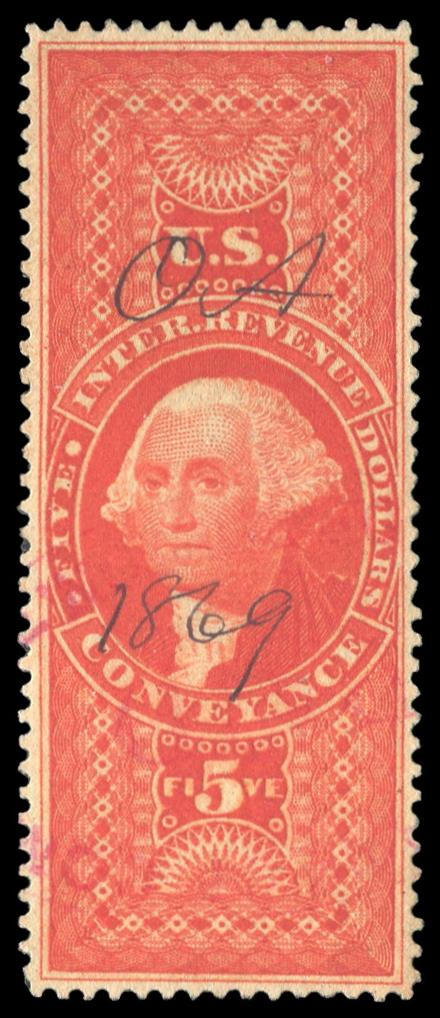 R89c Used, Silk Paper, PSE Graded 85, Cert # 01321537 - Click Image to Close