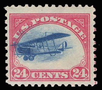 "C 3 MNH, ""Fast Plane"" Variety PSE Certified # 01102454"