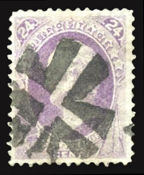 153 Used PSE Certified with Bold Crossroads cancel