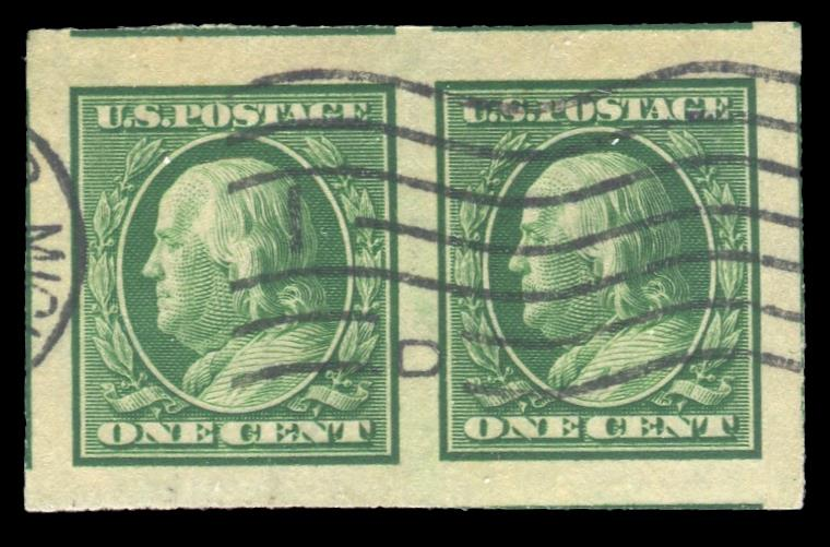#343 Used Pair, PSE Graded 100, PSE Cert # 01317266