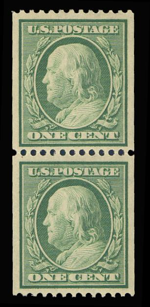 #348 MNH Pair, PSE Graded 90, PSE Cert # 01237458