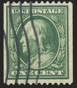 #385 Used PSE Graded 80, PSE Cert # 01203516