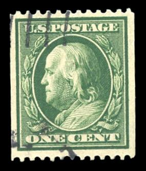 #385 Used PSE Graded 85, PSE Cert # 01197473