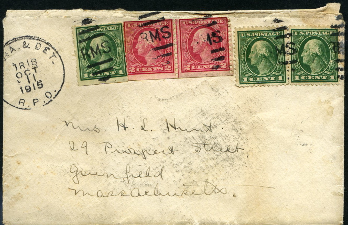 #453 Line Pair on Cover with PSE Certificate
