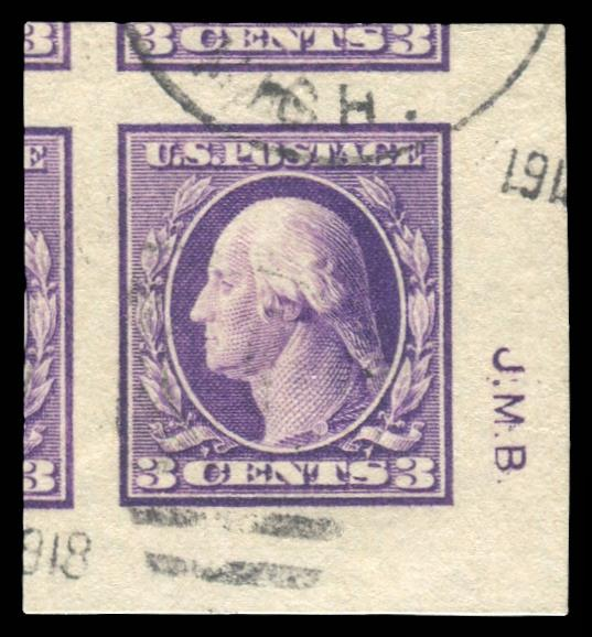#483 Used PSE Graded 100, Cert # 01301837 with Initials