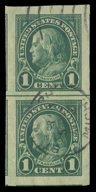 #575 Used Pair PSE Graded 98, Cert # 01272620