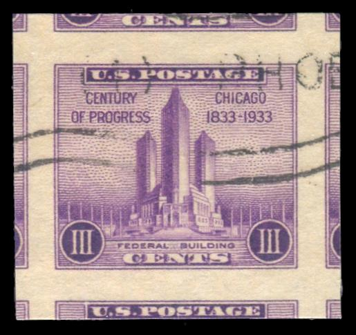 #731a Used PSE Graded 100J, Cert # 01322250