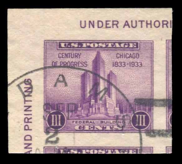 #731a Used PSE Graded 100, PSE Cert # 01325063